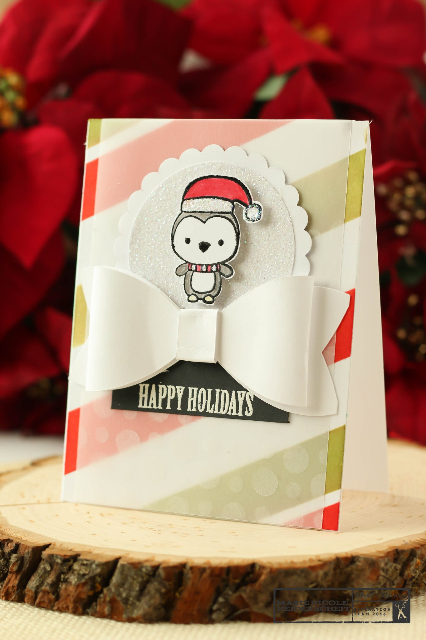 Happy Holidays | Creative Backgrounds with Brutus Monroe Inks and Stencils