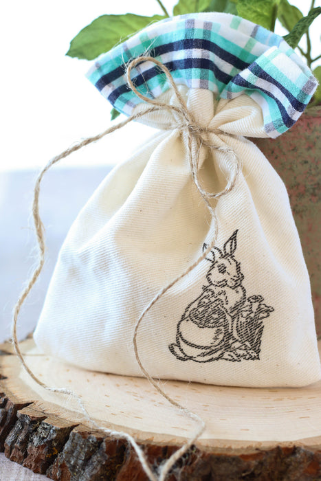 March Stamp Club- Canvas Easter Bags