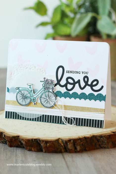 Sending You Love- Stamp Club Inspiration!