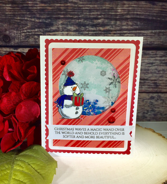 Snowman (Snow Friends stamp set)