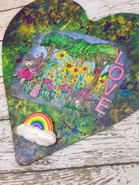 Fairy Garden Canvas