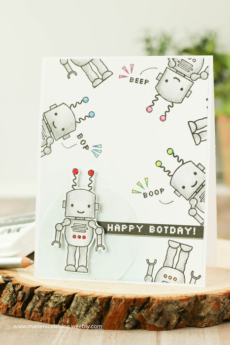 Happy Botday- August Stamp Club