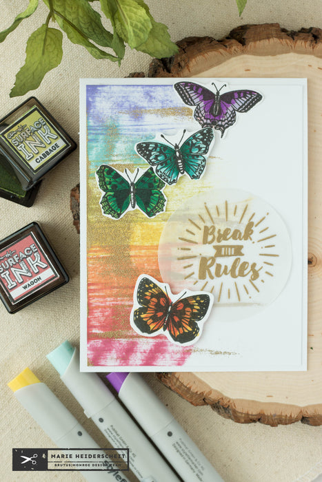 Break The Rules- Rainbow Ink