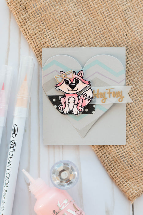 February Stamp Club- Hey Foxy!