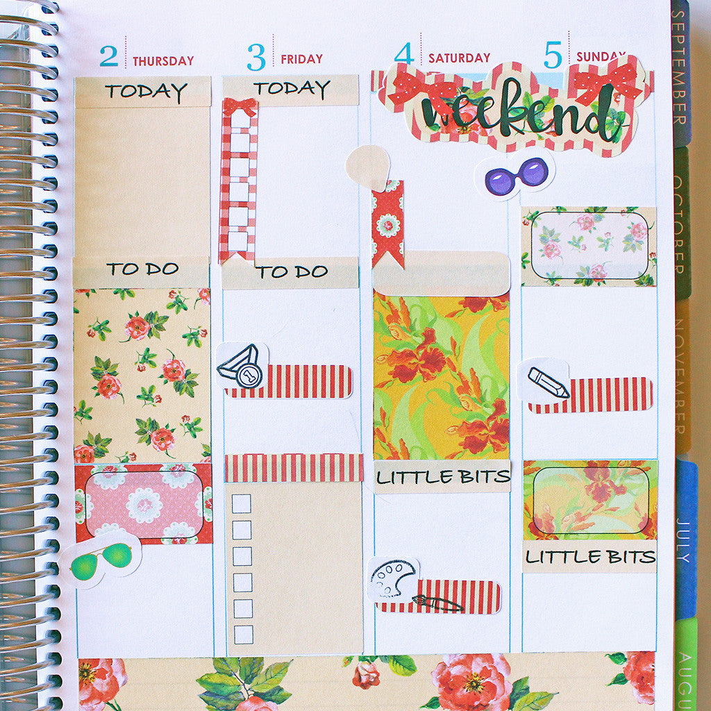 Planner Stamps & Stickers? Yes!!