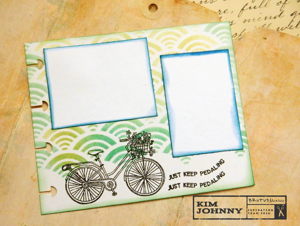 Small Planner Journal Page~February Stamp Club Feature!