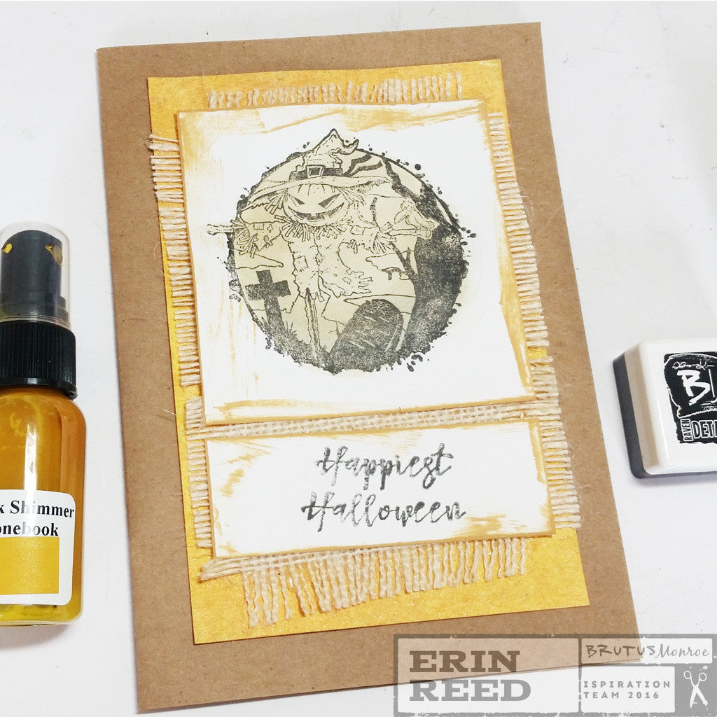 NEW Halloween Stamps and a Cute Card W/ Video Tutorial