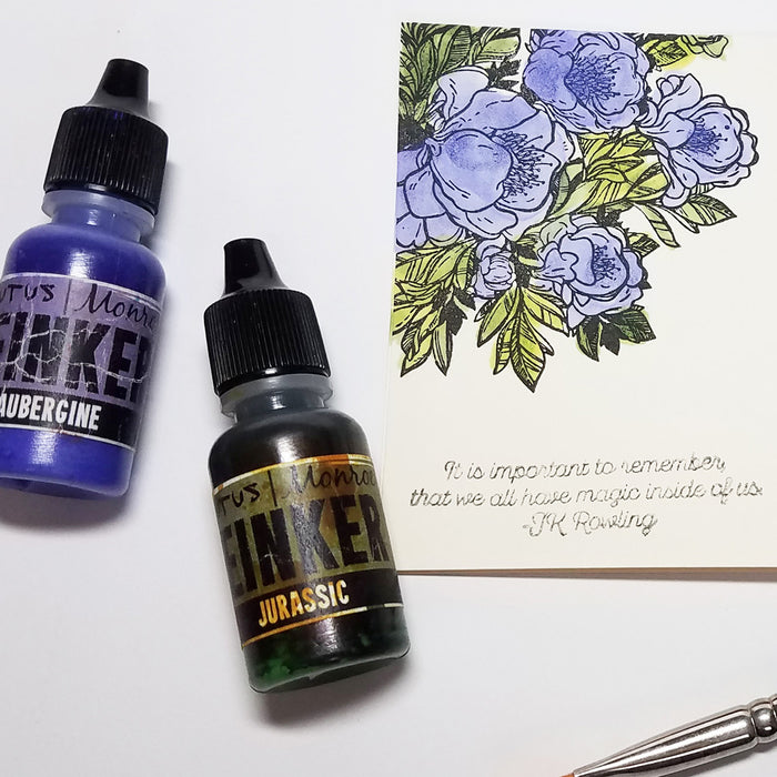 Ideas for Reinkers and Watercoloring