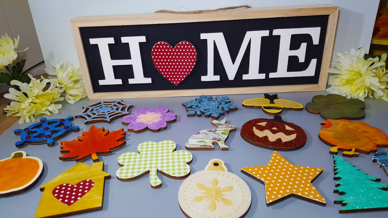 "Decorate Your ""Home"" Sign"