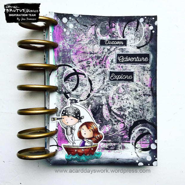 Art Journal Page with Jess