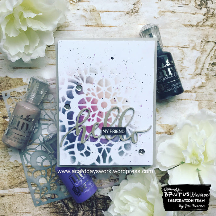 Elegant Lace Card with Jess