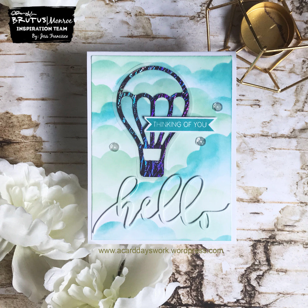 Dreamy Thinking of You Card with Jess