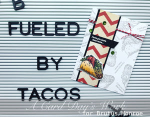 Let's TACOBOUT Stamped Backgrounds with Jess