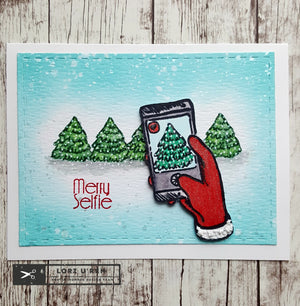 Merry Selfie Christmas Card