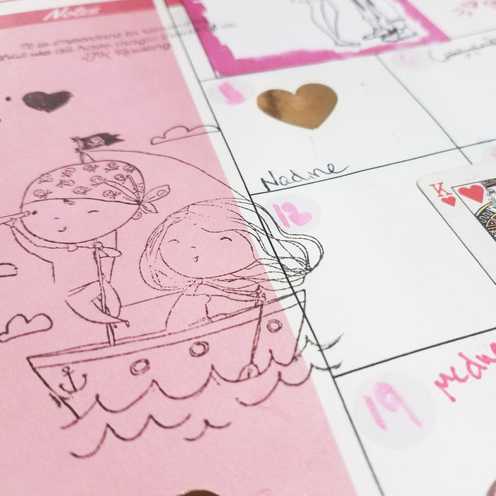 Planner Ideas Using Brutus Monroe Stamps