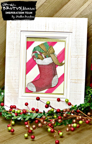 Holiday Decor Using Sketched Holiday Surface Board