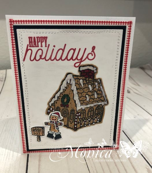 Gingerbread Village with Guest Designer, Monica Taylor!