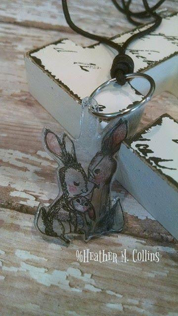 Bunny Love Shrinky Dinks- Heather Collins