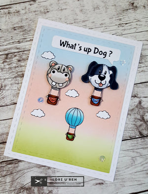 What's Up Dog? | Hot Air Balloon