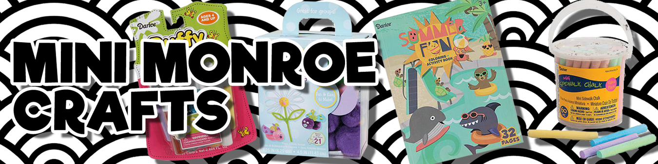 Mini Monroe Craft Products