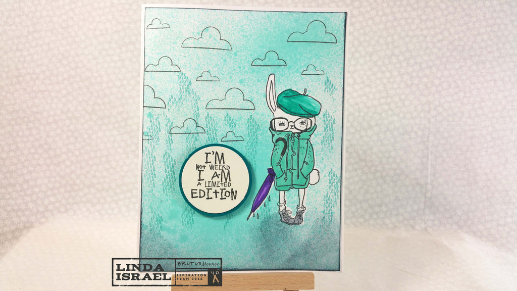 I'm Not Weird a Be Unique Greeting Card