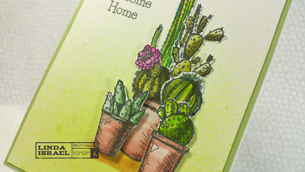 How to make a Welcome Home Sharp Stuff Card