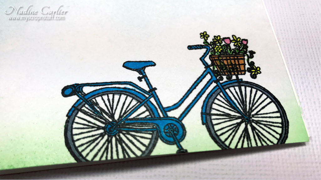 CAS Bicycle Card by Nadine Carlier