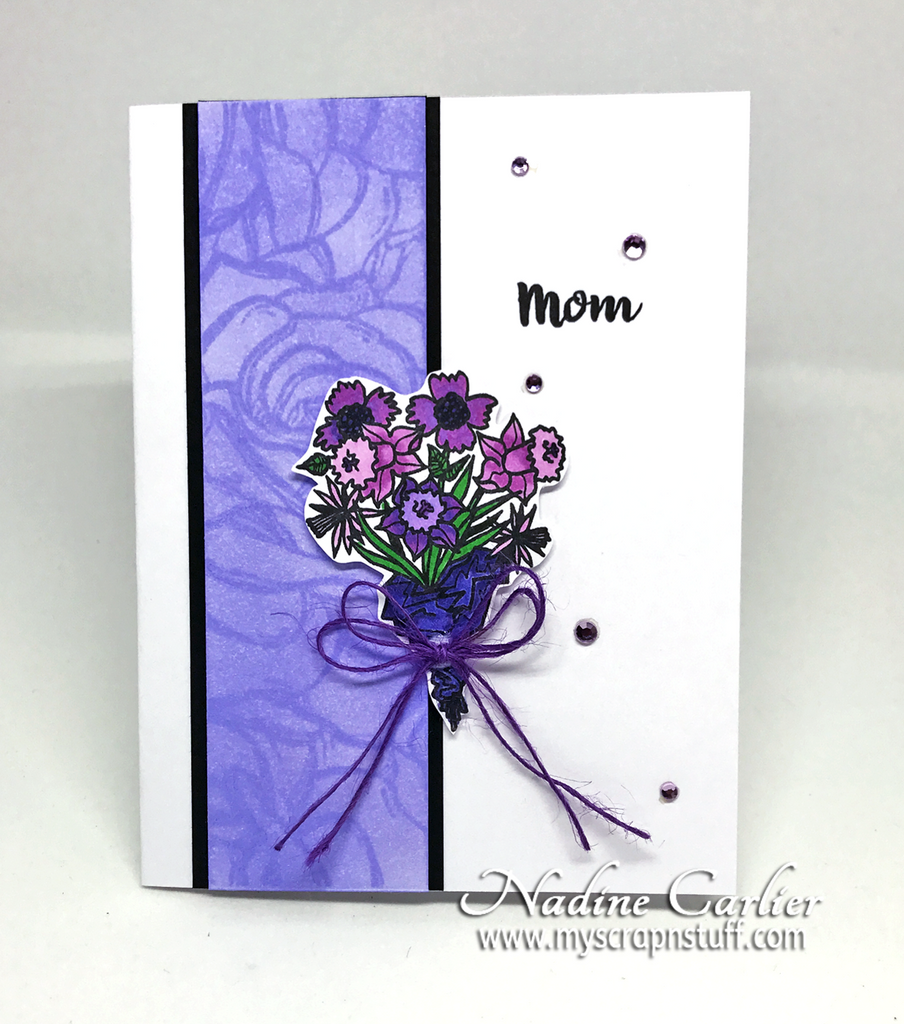 Brutus Monroe Mother's Day Card by Nadine Carlier