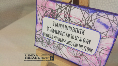 Diamonds Artist Trading Card
