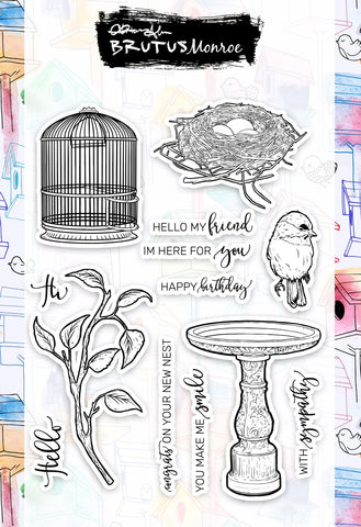 Feather Friends Stamp Set