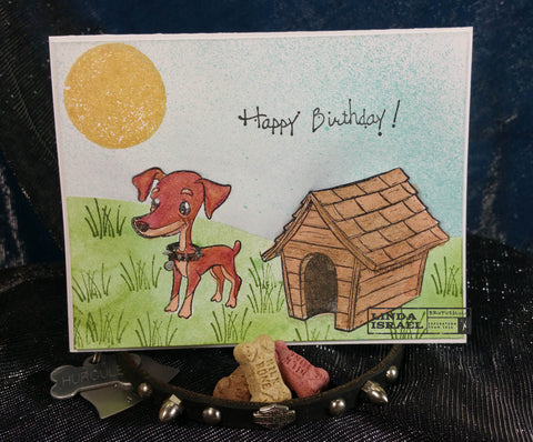 How To Make A Happy Birthday Brutus & Friends Greeting Card