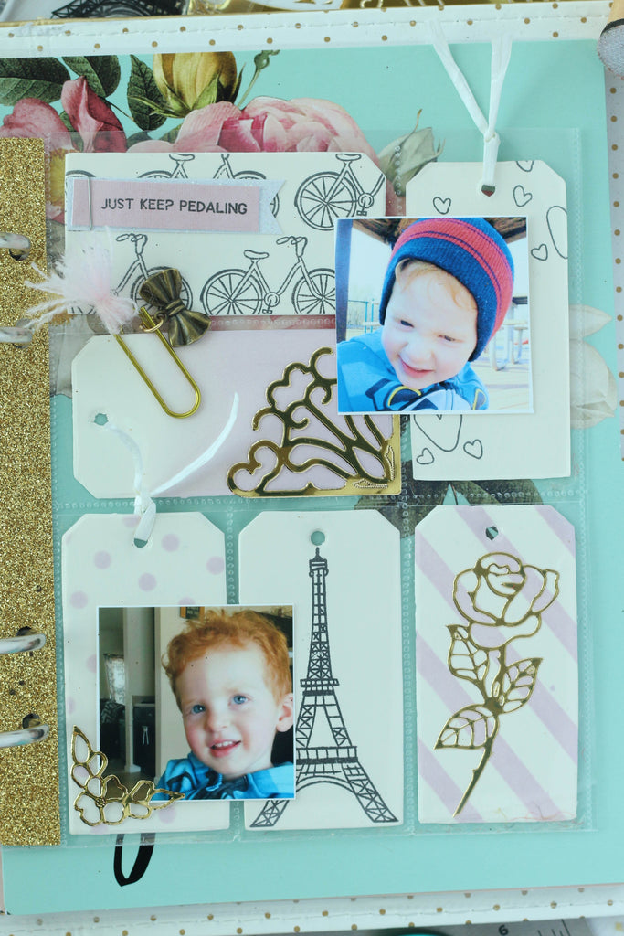 Mix your Brutus Monroe stamp sets to create fun planner pocket pages!