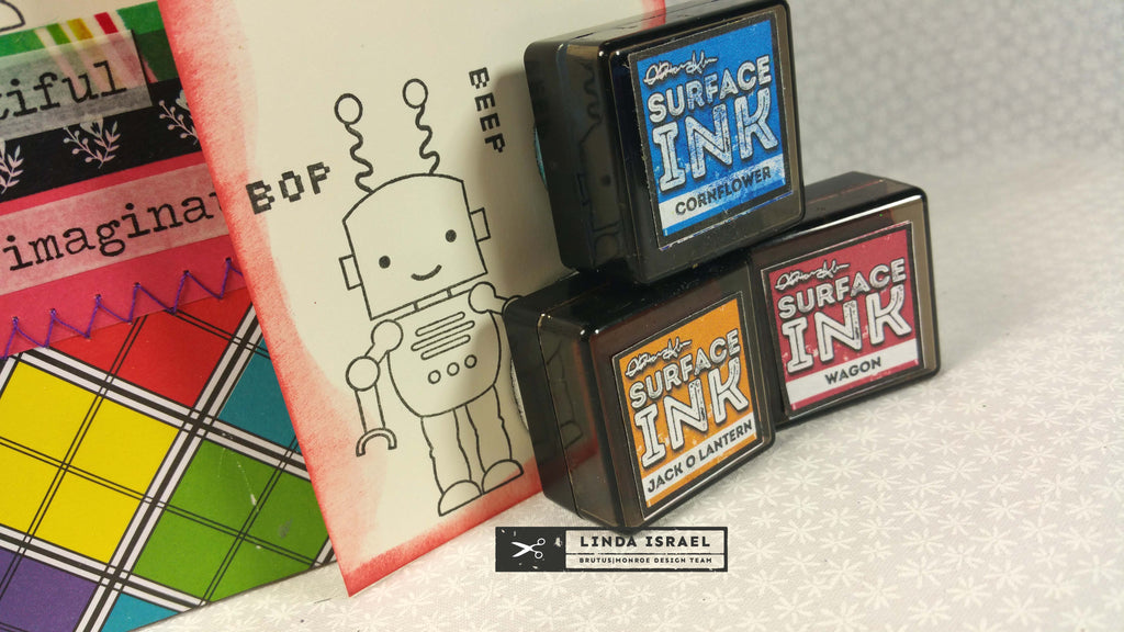 Robot Junk Journal with Stamp Club