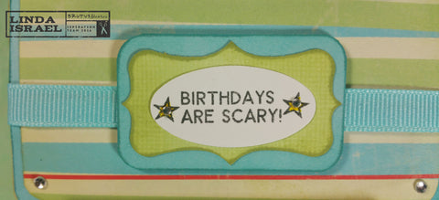 Birthdays are Scary Jan Stamp Club