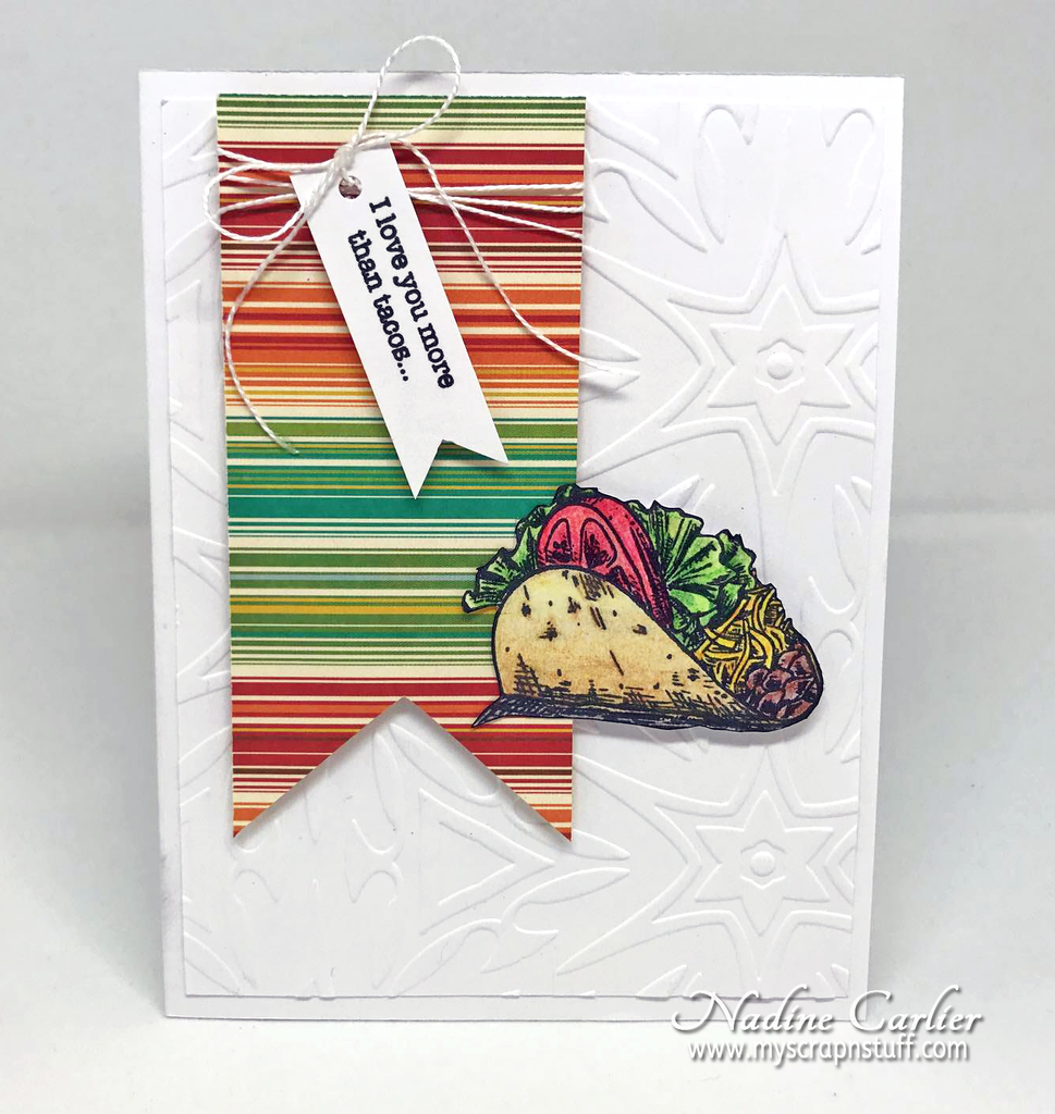 Taco Card by Nadine Carlier