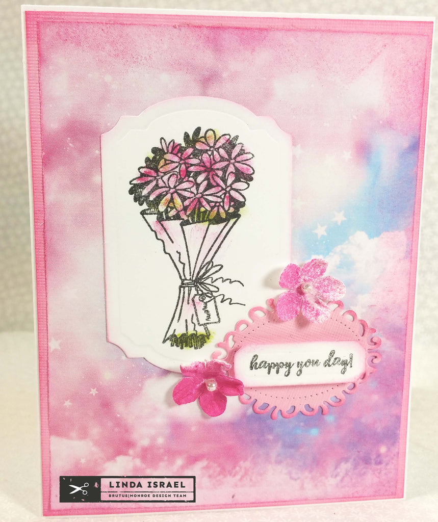 Tiny Stamps equals a Beautiful Card