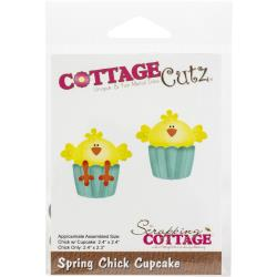 Spring Chick Cupcake Cutting Die