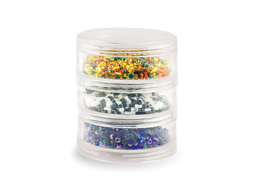 "Screw-Stack Canisters | 3 Jar | 2.75""x1"""