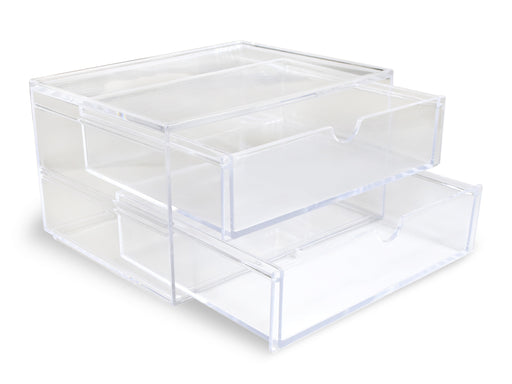 2-Drawer Desktop Organizer | 6.7x5x3.8""