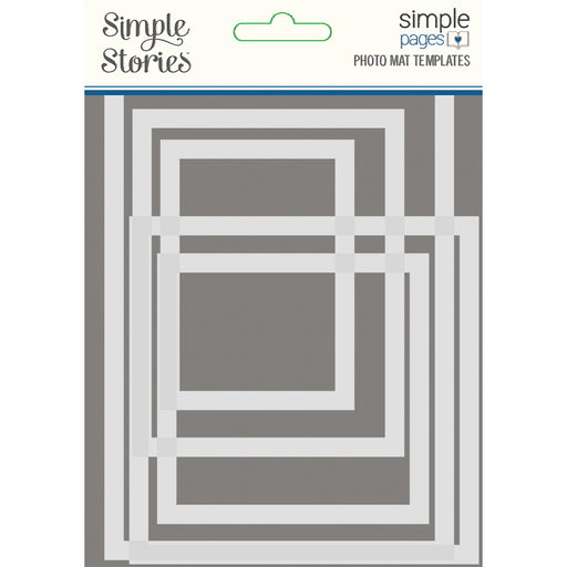 Simple Pages Photo Mat Template- Simple Stories
