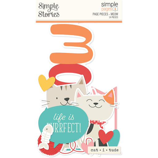 Simple Pages Page Pieces - Meow - Simple Stories