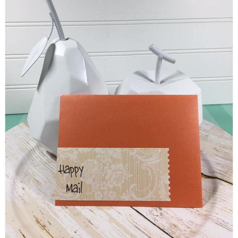 Happy Mail - 3x4 Stamp