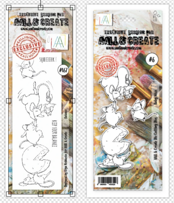 AALL & Create - A6 Stamp & Die Set - Balance