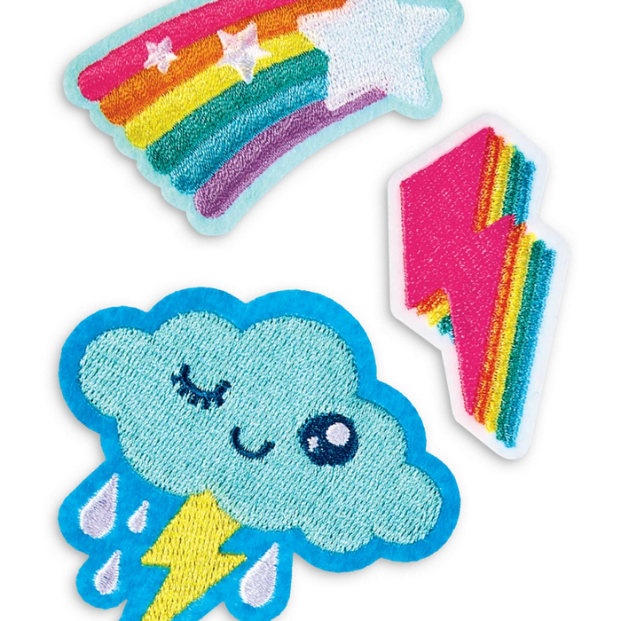 Patch Em' Iron-On Patches: Sky Pals