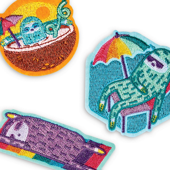 Patch Em' Iron-On Patches: Sleepy Sloth