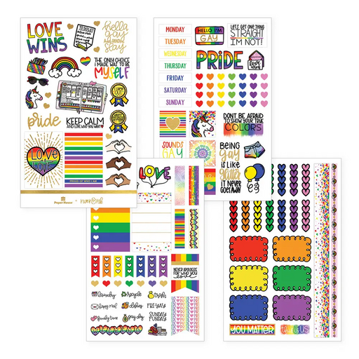 Let Love Shine Weekly Sticker Kit