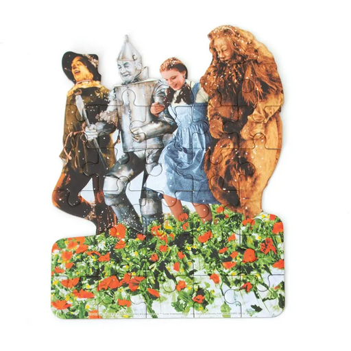 Wizard of Oz Poppy Field Mini Puzzle