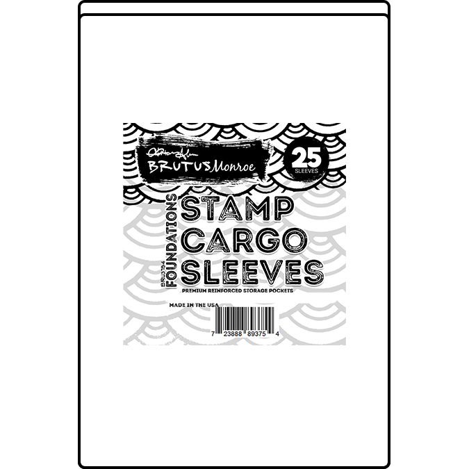 "Stamp Cargo Sleeves - 2.25"" x 3.35"" - 25 Pack"