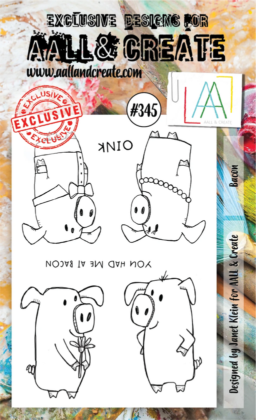 AALL & Create - A6 Stamp - Bacon