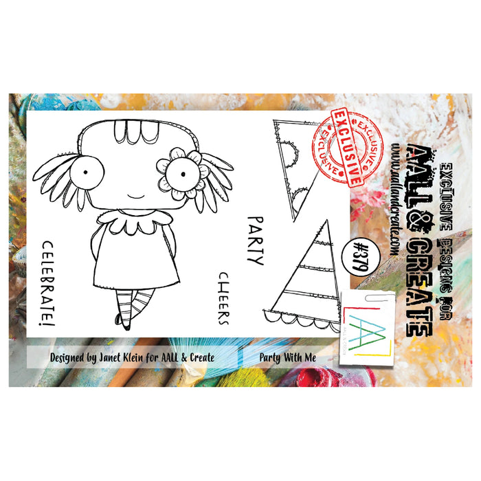 AALL & Create - A7 Stamp - Party With Me